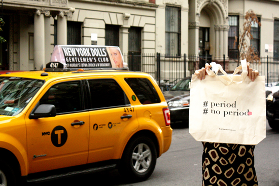 GIRLS HAVE PERIODS IS IN NEW-YORK